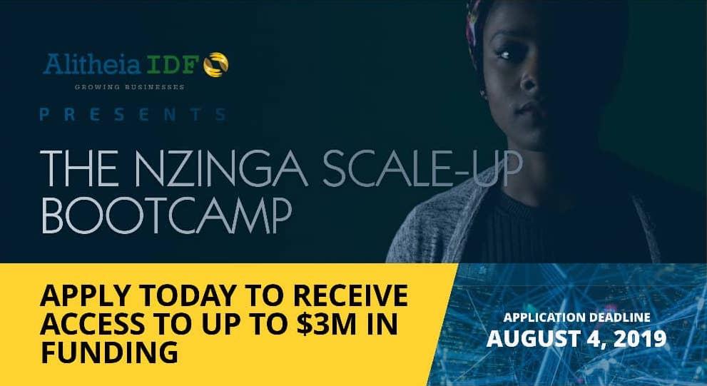 Nzinga Scale-Up Bootcamp Flyer