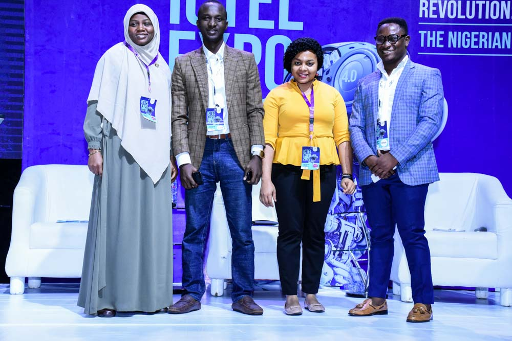 Judgs of the ICTEL Expo 2019 Startup Pitch
