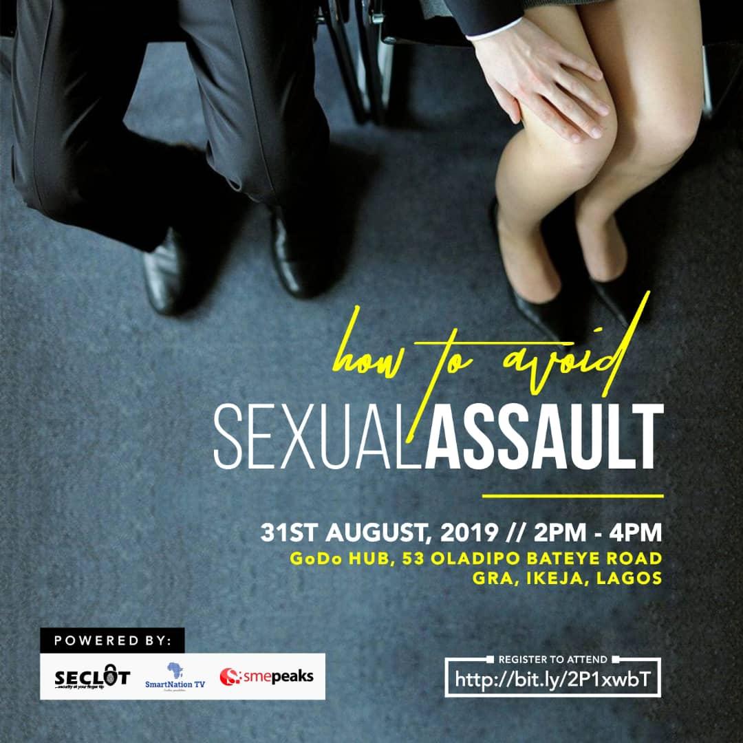 seclot mobile app sexual assault event flier