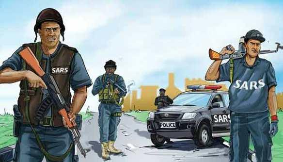 End SARS campaing - #StopRobbingUs