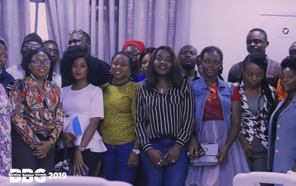 BBG 2019 cross-section of attendees in picture