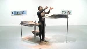 Otobong Nkanga - one of the best Nigerian lady painters