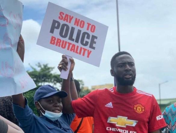 #EndSARS police brutality
