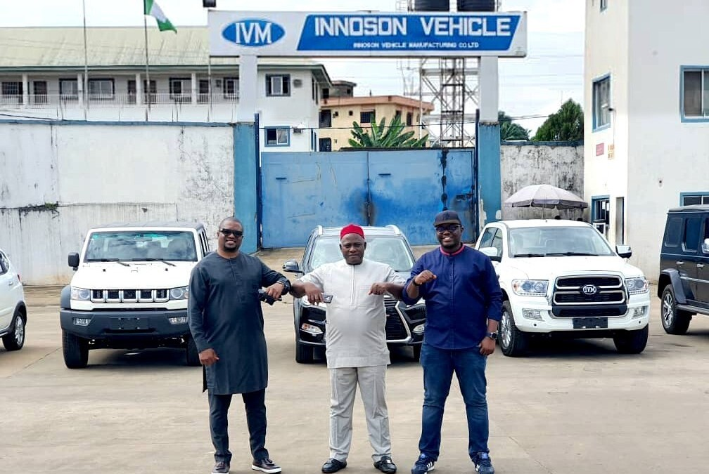 Plentywaka partners Innoson vehicles for expansion to Nigeria's Southeastern states