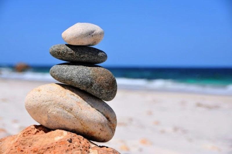 Stacking stones