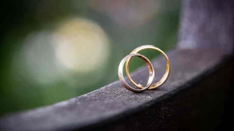 Man kan godt fejre bryllup selvom man har det dårligt