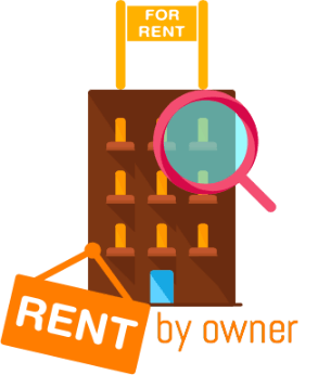 rent from the owner
