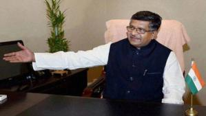 Electronics Manufacturing Clusters to Become Reality Soon: Ravi Shankar Prasad