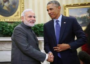 Stage Setting for Obama- Modi Meet in New Delhi