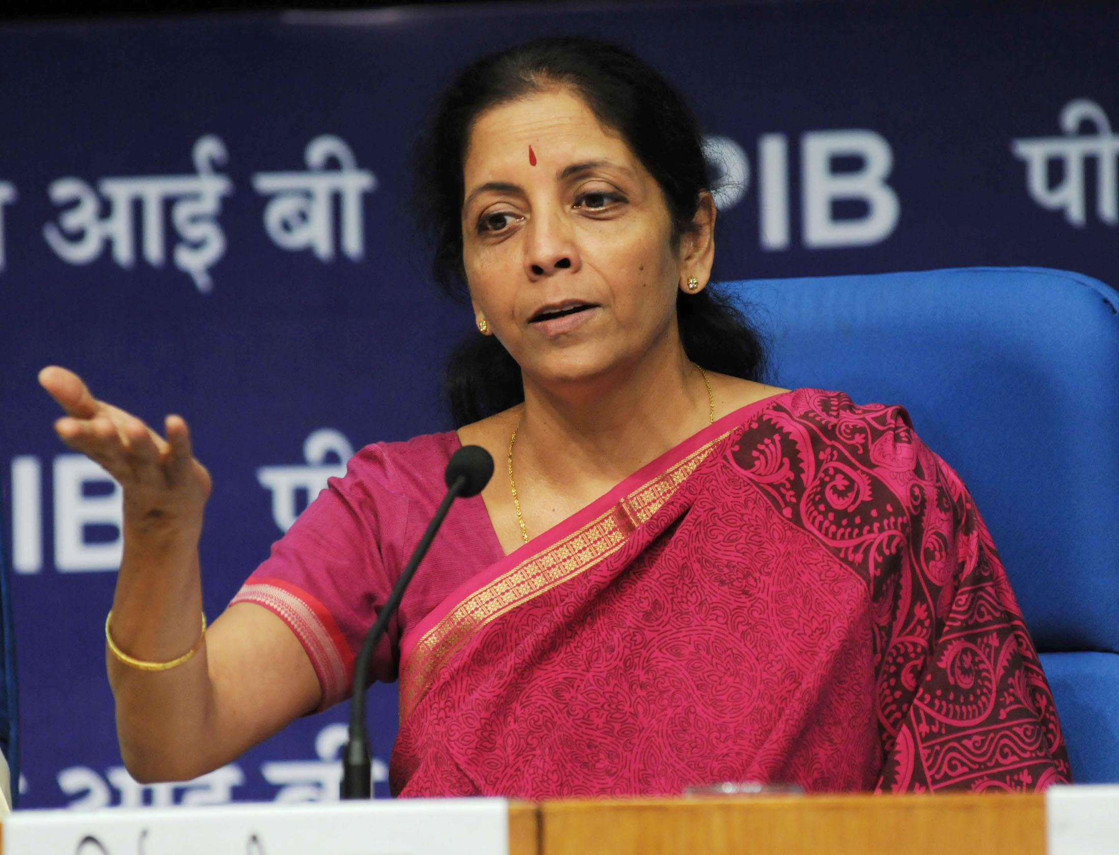 Nirmala Sitharaman meets Indian CEOs at SPIEF