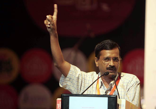 Arvind Kejriwal addressed the Industry, Sketches Delhi's Development Plan
