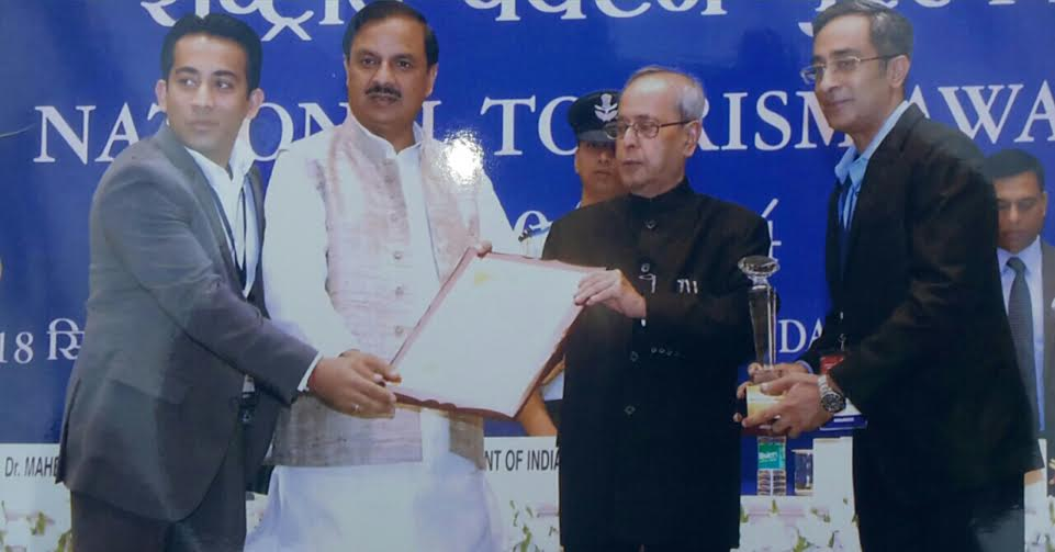 ECO Rent a Car gets National Award from President of India