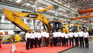 SANY India Achieves Production Milestone From It's Pune Plant