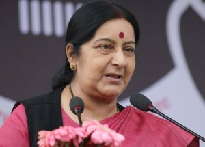 India, Bangladesh Bilateral Ties Becoming Positive: Sushma Swaraj