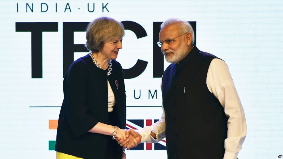 We Can Break Barriers for Enabling Free Trade with India: Theresa May