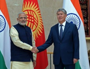 India, Kyrgyzstan Signs Six Agreements and Investment Treaty