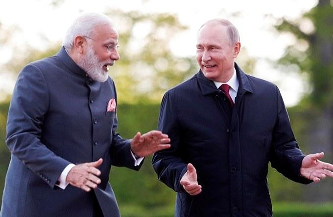 Modi and Putin Singed St. Petersburg Declaration