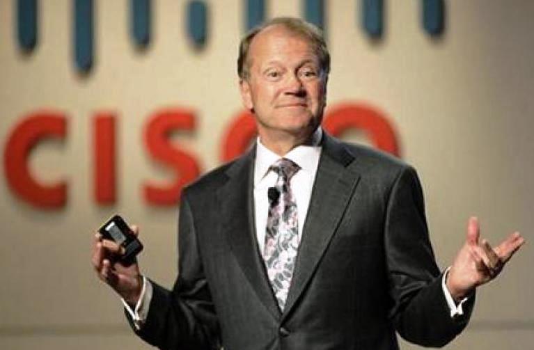 Cisco's John Chambers Steps Down as the Chairman