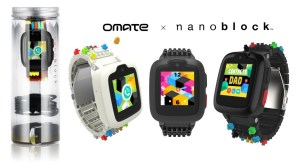 New Age Digital Parenting with Omate x Nanoblock Smartwatch To Begin from MWC 2018