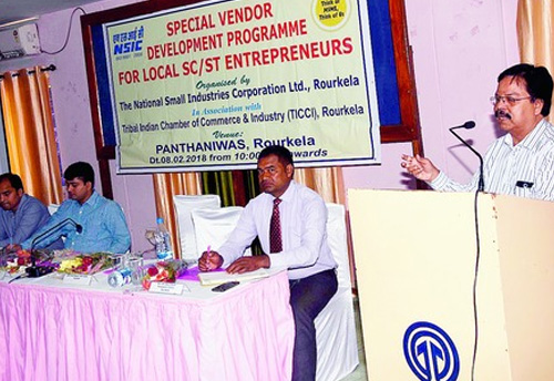 TICCI-NSIC Conducts Seminar for Tribal Entrepreneurs in Odisha