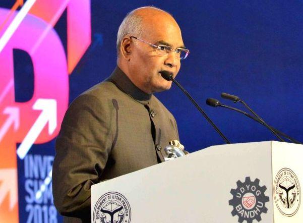 Ram Nath Kovind Emphasized Economic Reforms Led Development at UP Investors Summit