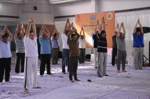 NSIC Celebrated Yoga Day