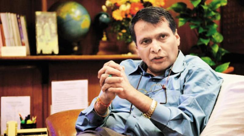 Suresh Prabhu Want More Funds for Incentivising Onion Exports