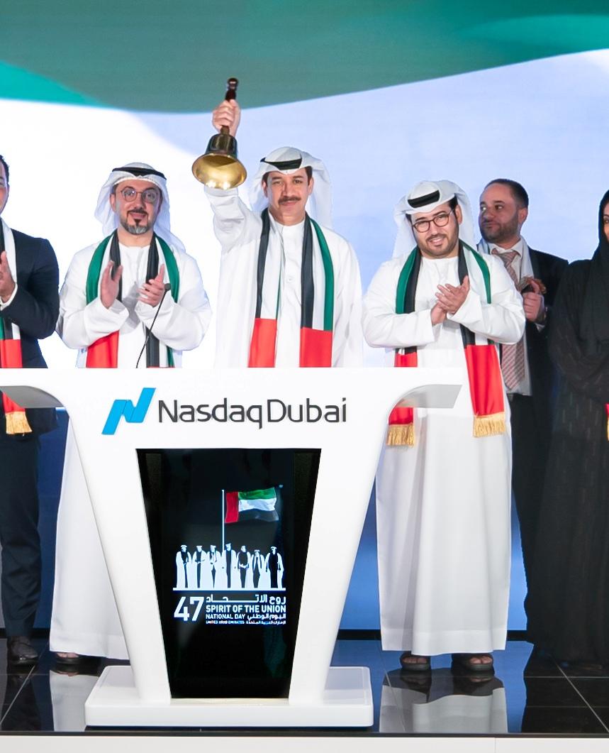 Nasdaq Dubai Celebrates National Day by Ringing  Market-Opening Bell at MarketSite