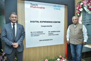 Tech Mahindra & Cisco Join Hands to Launch Digital Experience Center in Bangalore