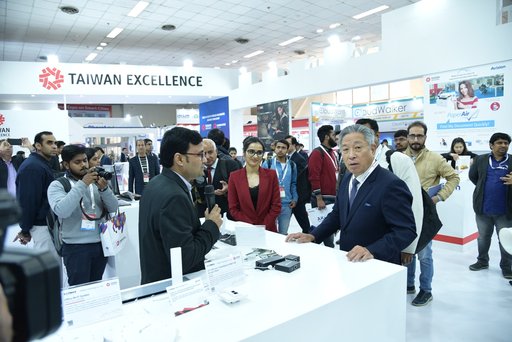 Taiwan Excellence Unleashed India's Initiatives at Convergence India 2019