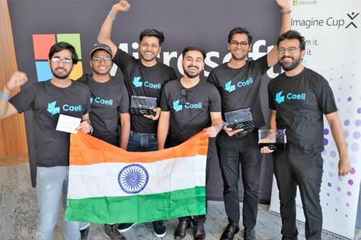 India's Team Caeli Wins 2019 Microsoft Imagine Cup Asia Regional Finals
