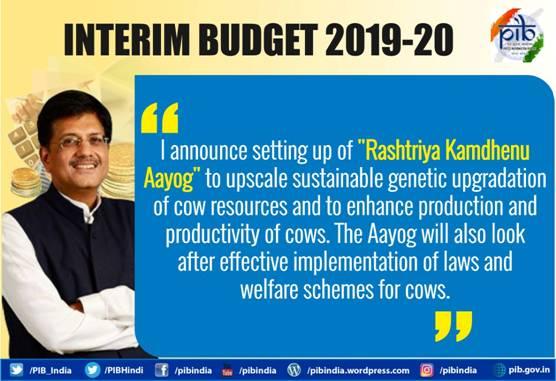 Key Highlights: Interim Budget 2019