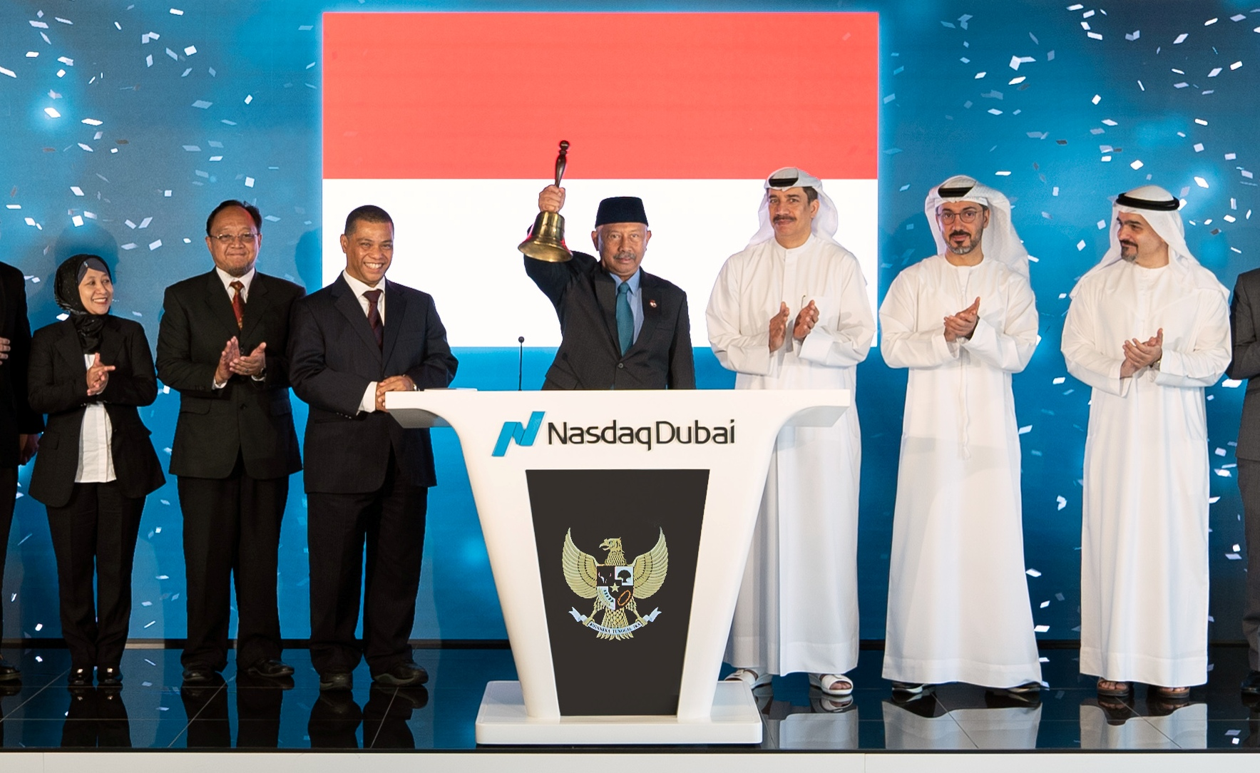 Government of Indonesia Celebrates Listing Two Green Sukuk Totalling USD 2 Bn on Nasdaq Dubai