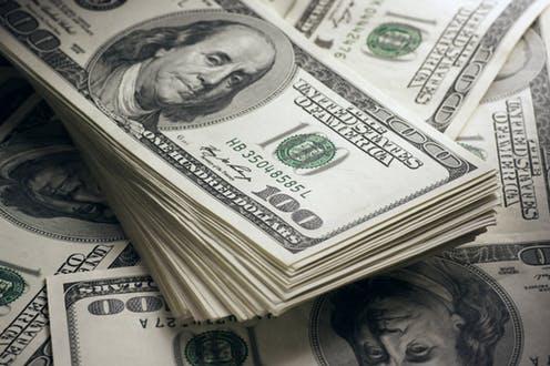 Global Trade Fumbled USD Declines