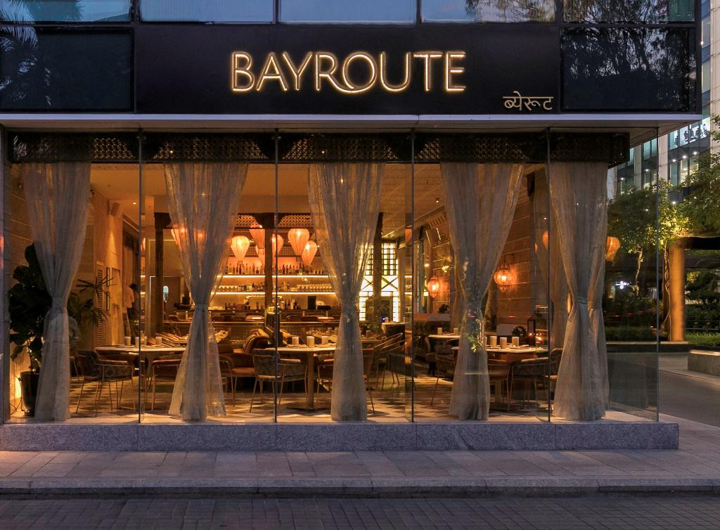 "Mumbai's Middle-Eastern Fine Dine ""Bayroute"", Now in BKC"
