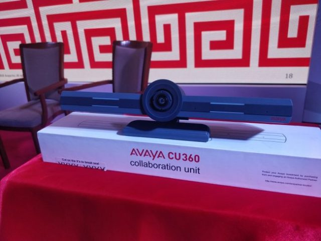 Avaya CU 360 video collaboration unit photo by deepumadhavan