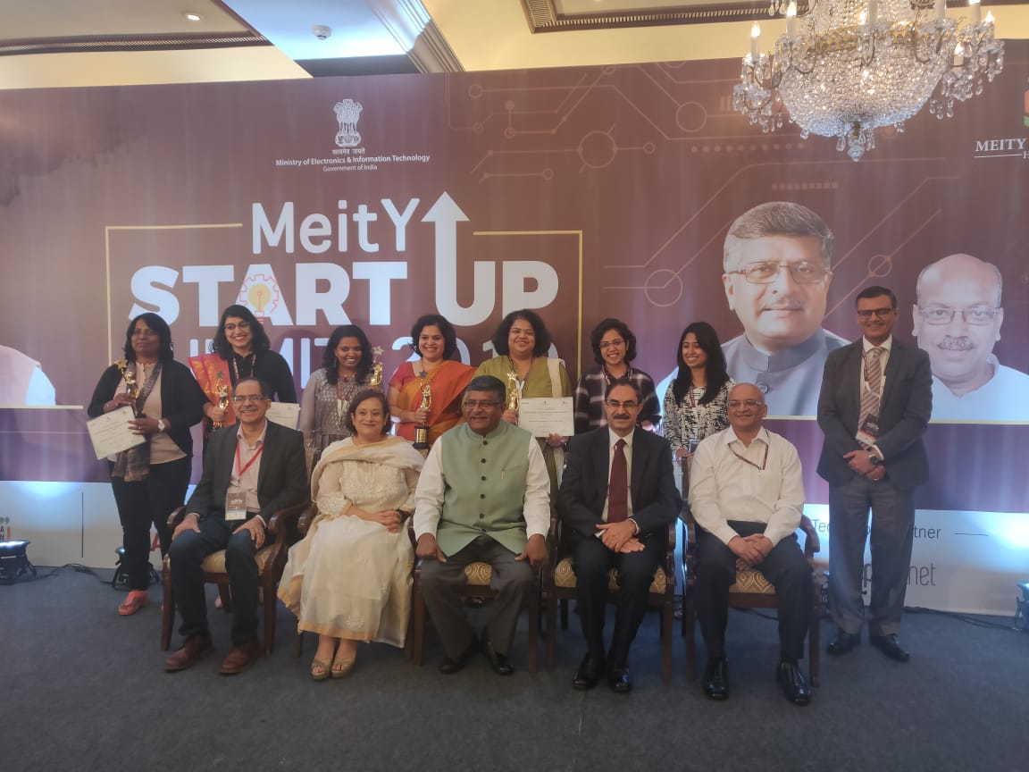 Mabel Chacko of Open Wins Startup Leader Award From MEITY and NASSCOM