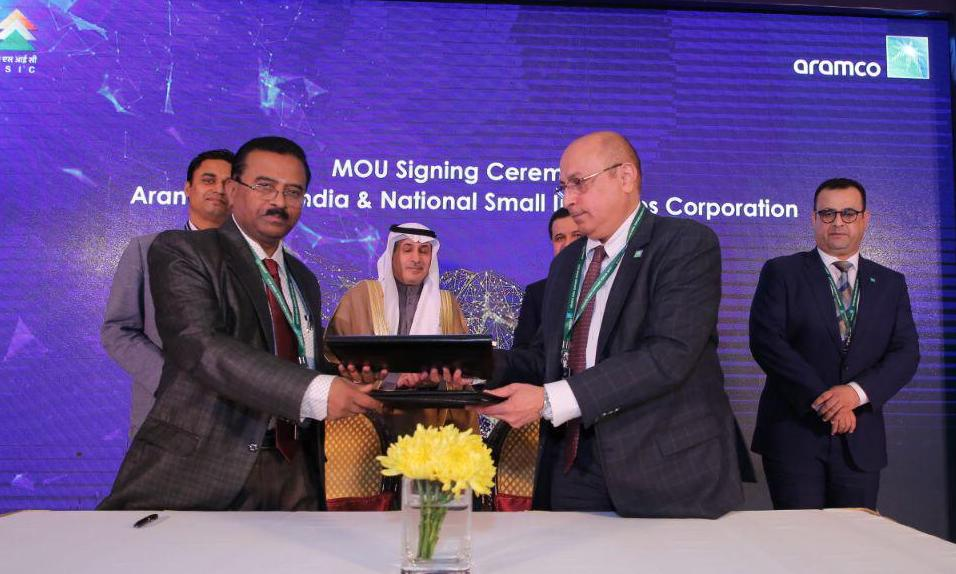 NSIC and Aramco Asia Signed MoU for MSME Development in Oil & Gas Sector