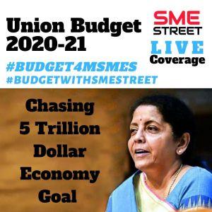 Union Budget 2020-21, BudgetWithSMEStreet, UNion Budget 2020