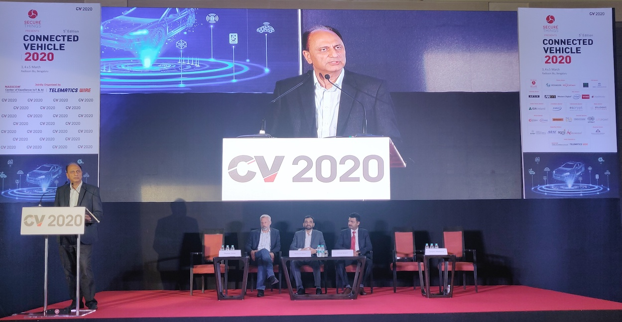 Future of Mobility Showcased at Connected Vehicles 2020