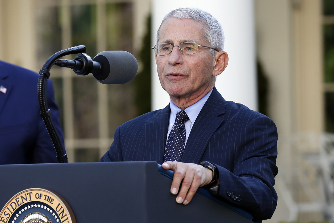 Dr Fauci Wants Biden Administration to Focus on Efficient Distribution of Covid-19 Vaccines