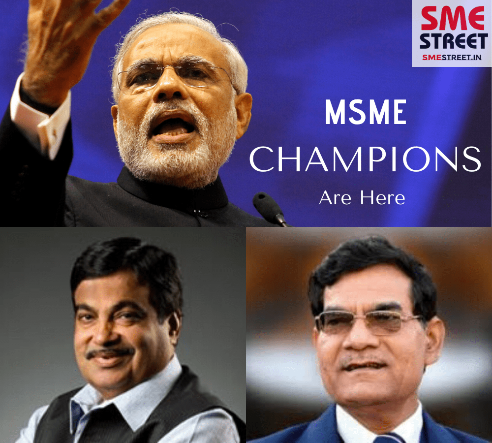 'CHAMPIONS' Initiative for MSME Formally Launched by PM Modi
