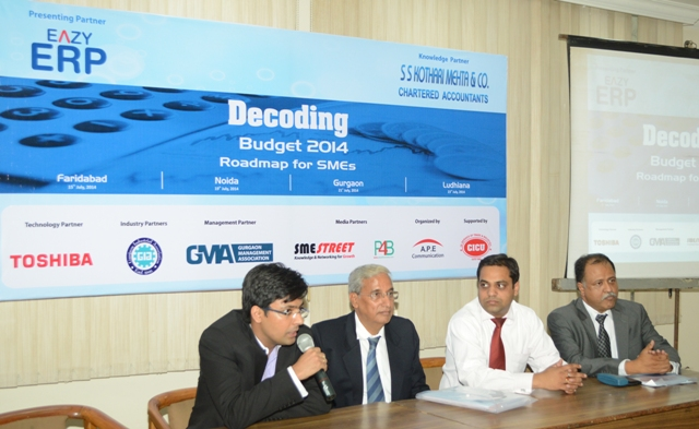 SMEStreet Decoding Budget Event Series in Ludhiana