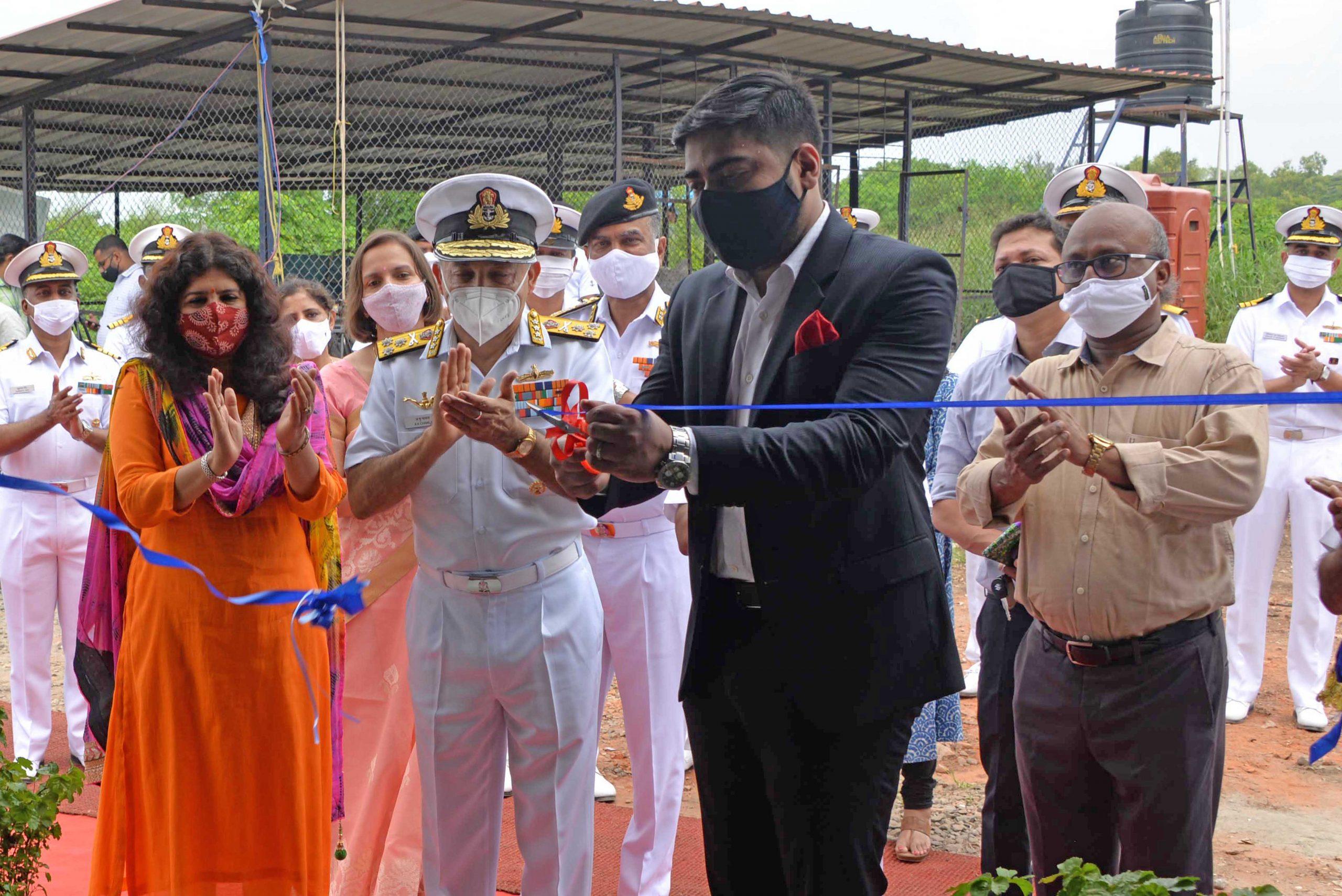 Plastic Waste Handling Facility Inaugurated at Naval Base, Kochi