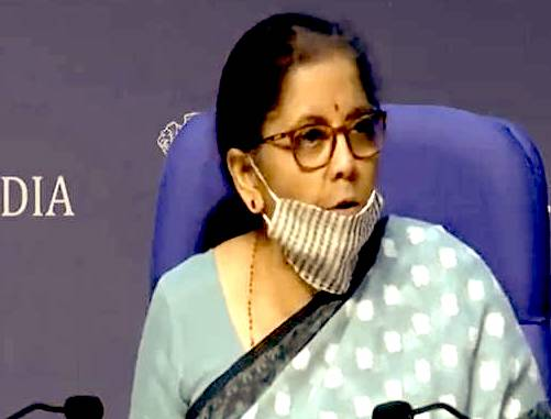 Indian Economy is Showing 'V Shaped' Economic Recovery: FM Sitharaman at IMF