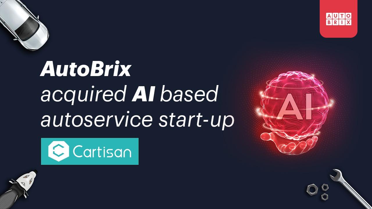 AutoBrix Acquires AI Based Auto Service Company Cartisan