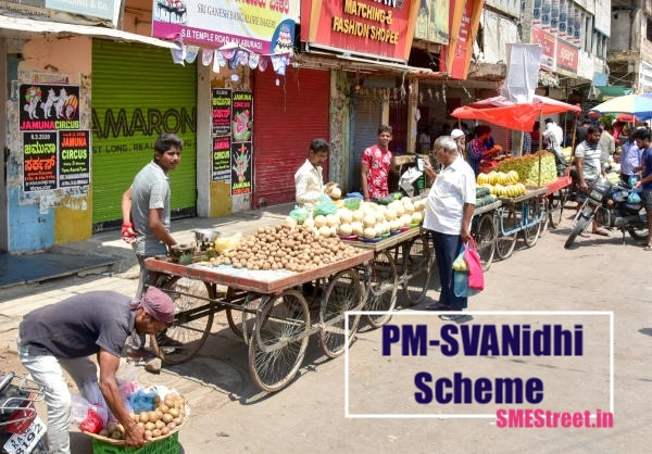 25 Lakh Applications Received Under PM-SVANidhi Scheme