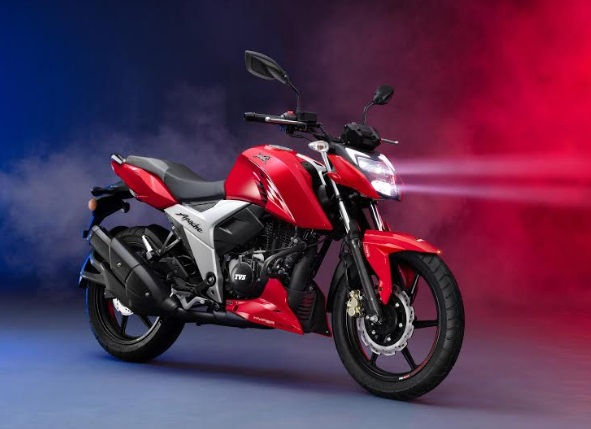 TVS Motor Company Launches 2021 TVS Apache RTR 160 4V with Bluetooth Enabled TVS SmartXonnect* in Bangladesh