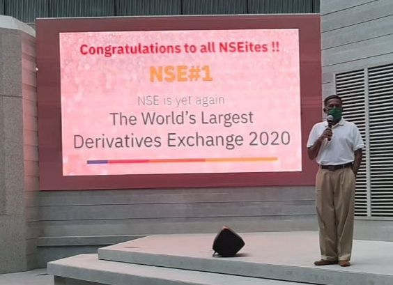 NSE Became World's Largest Derivatives Exchange for 2nd Consecutive Year