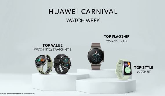 High-end Classic Design, Health and Sports or Everyday Use, Huawei has a Lineup of Wearables